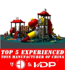 Plastic Outdoor Playground Slide for Children (HD14-021A) pictures & photos