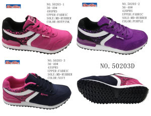 No. 50203 Lady Sport Stock Shoes Three Colors pictures & photos