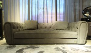 Bonliving New Collection Top Grain Leather Nubuck Leather Sofa pictures & photos