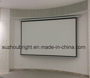 Manual Screen 100 Inch 120 Inch High Definition Projector Projector Screen pictures & photos