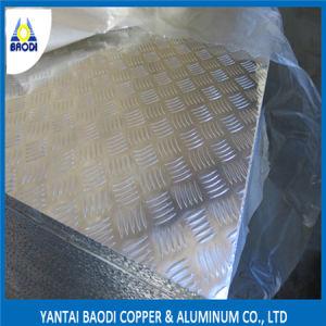 Anti-Skid Aluminum Floor Plate 3003 pictures & photos