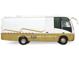 Rhd/LHD Dongfeng 104 HP Closed Cargo Bus pictures & photos