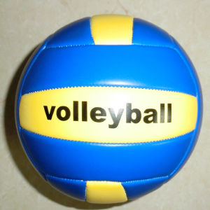 Size 5 TPU Leather Machine-Sewn Volleyball pictures & photos