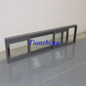Hot Economic Style Waterproof Aluminum Sliding Window pictures & photos