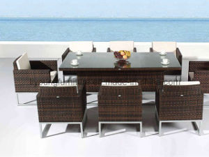 Outdoor Wicker Dining Set (LG-S-167)