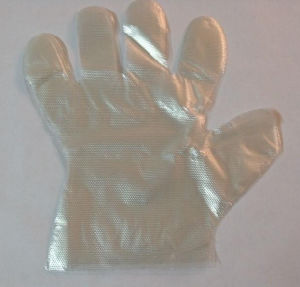 Disposable Eating Glove, HDPE Glove, PE Glove pictures & photos