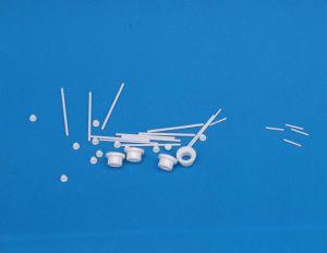 Alumina Ceramics Pin Rod Eyelet 95% Al2O3 99.5% Al2O3