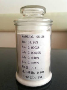 Manganese Sulfate (Feed Grade) of 98% pictures & photos