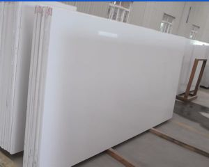 Pure White Quartz Slab for Kitchen Top/Bathroom Top/Vanity Top pictures & photos