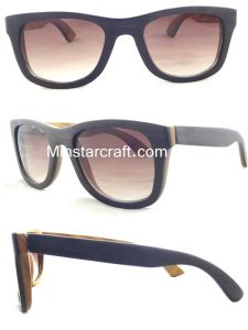 Customized Sunglasses Fashion with Competitive Price, Wooden Sunglasses-by-38