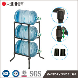 NSF Approval 5 Gallon Metal Water Bottle Display Wire Rack pictures & photos