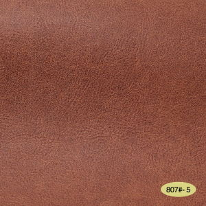 Artificial Semi-PU Leather for Furniture (807#) pictures & photos