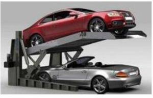 2m High Tilting Car Lift with Ce pictures & photos