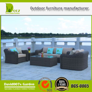 Luxury Garden Sectional Wicker Sofa Rattan Outdoor Furniture pictures & photos