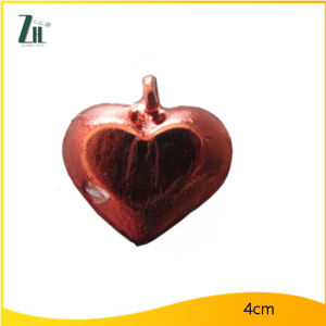 Red Heart Shape Glass Craft Ornaments pictures & photos