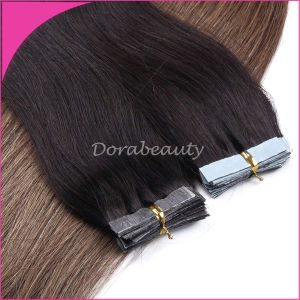 2015 Fashion Brazilian Tape Hair Human Hair Extensions pictures & photos