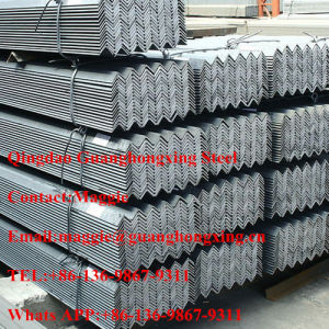 25X25mm - 200X200mm / 25X16mm - 200X125mm, Equal and Unequal Carbon Steel Angle pictures & photos