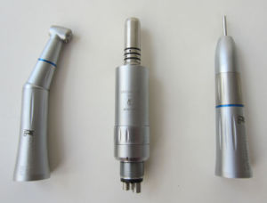 Internal Water Spray Dental Low Speed Handpiece with LED Light pictures & photos