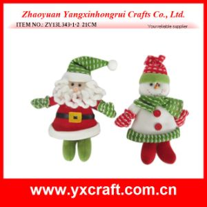 Christmas Decoration (ZY13L343-1-2 21CM) Christmas Color pictures & photos
