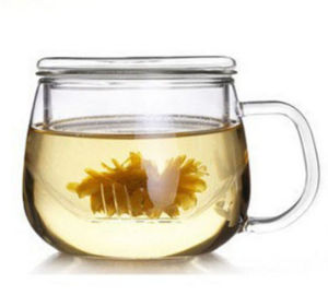 300ml Clear Glass Office Cup Borosilicate Glass Cup, Tea Cup pictures & photos