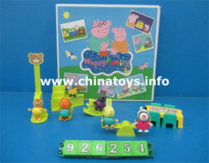 Funny Toy Soft Plastic Pig with Music and Light (926252) pictures & photos