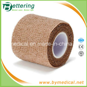 Tan Colour Non Woven Flex Cohesive Elastic Bandage pictures & photos