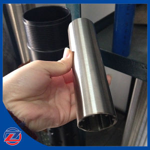 25 Micron Filtering Slot Stainless Steel Flow Outside in Johnson Screens with Wedge Wire Screen Filter Elements pictures & photos
