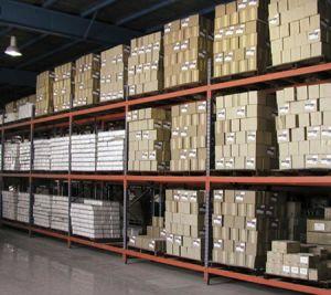 Heavy Duty 3-Layer Metal Storage Racks, Steel Goods Shelf for Warehouse