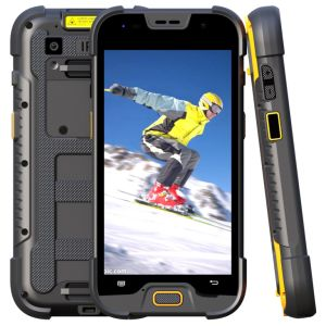 Rugged Smartphone Waterproof IP68 Industrial Handheld Terminal with 1/2D Barcode Qr Code Scanner Data Processor pictures & photos