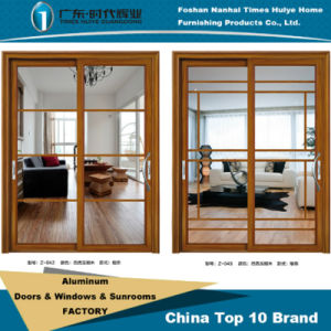Aluminum/Aluminium Sliding Door Model Z-042~043 pictures & photos