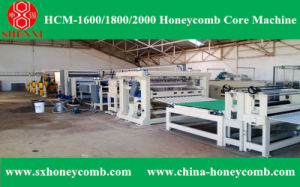 Hcm-2000 Honeycomb Core Machine pictures & photos