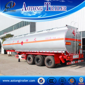 Carbon Steel 42-60 Cbm 3 Axle Fuel Tank Semi Trailer for Sale in African pictures & photos