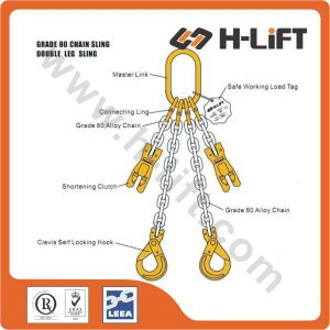 Grade 80 Chain Sling / G80 Alloy Chain Sling / G80 Lifting Chain Sling pictures & photos