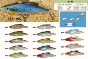 65mm 90mm Sinking Vib a Top Factory′s Cheap Price --- High Quality Made Custom Hard Plastic Fishing Crankbait - Wobbler - Minnow- Popper Fishing Lure pictures & photos