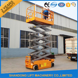 Battery Self Propelled Scissor Lift Hydraulic Lift for Sale pictures & photos