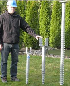 Solar Energy Ground Screw