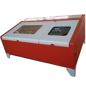 Rubber Stamp, Name Plate, Jeans CO2 Laser Engraving Machines 40W Machinery pictures & photos