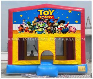 Jumping Castles with Air Blower, Hook & Loop Art Banners in Front (B2120) pictures & photos