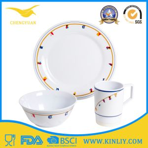 Cheap European Africa China Us Melamine Plastic Restaurant Safe Round Square Modern Home Food Set Dish Dishware Dinner Plate Cup Bowl Tray Dinnerware Tableware pictures & photos