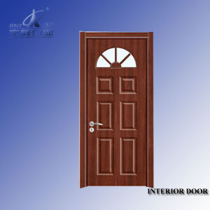 Solid Wood Hemlock Exterior Doors pictures & photos