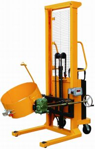Electric Drum Stacker(Power Lifting &Single -Stage) pictures & photos