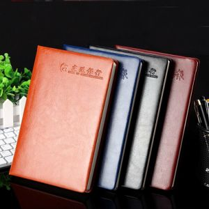 Wide Ruled Notebook / Leather Journal Book / Dotted Paper Notebook pictures & photos