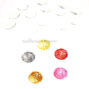 Crystal Nail Art Round Shape Color Chart Manicure Products (NT36)