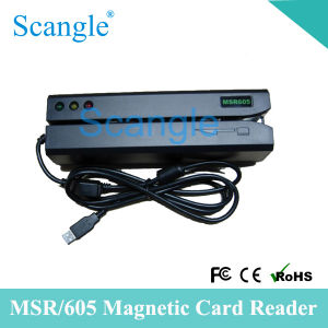 Msr605 Magnetic Strip Card Reader /Writer Mini Portable Magnetic Card Reader pictures & photos