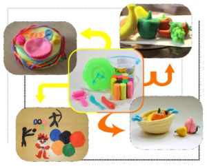 Intellect Magic Kids Clay Craft Toy Making pictures & photos