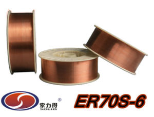 Low Carbon Steel ER70S-6 Solid Welding Wire pictures & photos