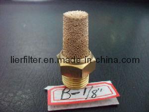 """B-1/8"""" Brass Sintered Muffler/ Silence with Npt Thread"""