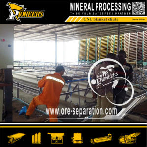 CNC Automatic Blanket Washing Chute Mineral Tailing Recovery Sluice Plant pictures & photos