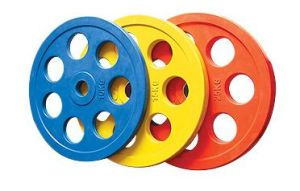 Color Round Weight Plate (7 Holes) (SA17) pictures & photos