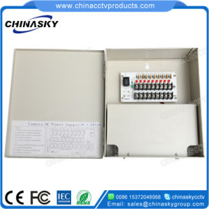 12VDC 5A 9 Channel Premium CCTV Camera DC Power Supply (12VDC5A9PN) pictures & photos